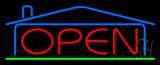 Real Estate Open Neon Sign