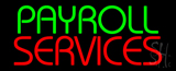 Payroll Services Neon Sign