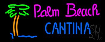 Palm Beach Cantina Neon Sign