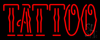 Red Tattoo Neon Sign