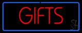 Gifts Rectangle LED Neon Sign