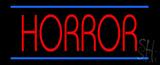 Horror Neon Sign