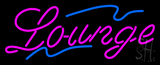 Cursive Lounge Neon Sign