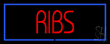 Ribs Neon Sign