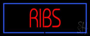 Ribs Neon Sign