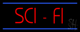 Sci-Fi Neon Sign