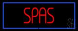 Spas Neon Sign