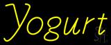 Yellow Yogurt Neon Sign