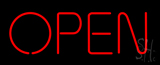 Open - No Border Neon Sign