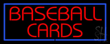 Baseball Cards Neon Sign