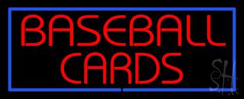 Baseball Cards Neon Sign