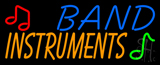 Band Instruments Neon Sign