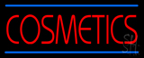 Red Cosmetics Blue Lines Neon Sign