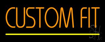 Custom Fit Neon Sign
