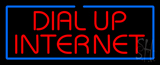 Dial Up Internet Neon Sign