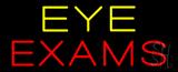 Yellow Eye Exam Neon Sign