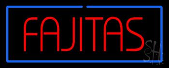 Fajitas Neon Sign