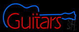 Guitars Graphic Neon Sign