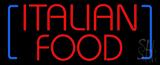 Italian Food Neon Sign