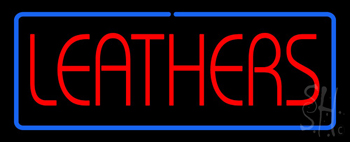 Leathers Neon Sign
