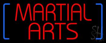 Martial Arts Neon Sign