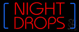 Night Drop Neon Sign