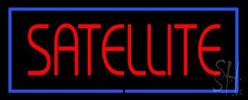 Satellite Neon Sign