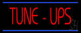 Tune-Ups Double Line Neon Sign
