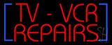 TV - VCR Repair Neon Sign