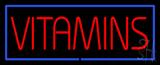 Vitamins Neon Sign