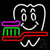 Dentist Logo Neon Sign