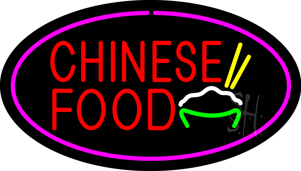 Led Chinese Food Sign