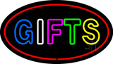 Double Stoke Gifts Oval Neon Sign