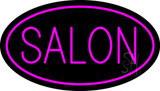 Pink Salon Oval Neon Sign