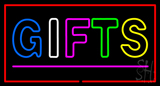 Gifts Double Stroke Pink Line Neon Sign