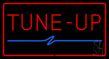 Red Tune-Up with Border Neon Sign