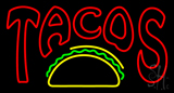 Double Stroke Tacos Neon Sign