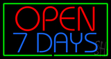 Open 7 Days Neon Sign