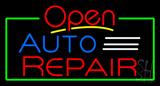 Open Auto Repair Neon Sign