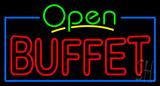 Open Buffet Neon Sign