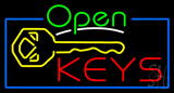 Open Keys Neon Sign