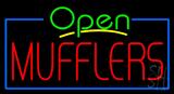 Open Mufflers Neon Sign