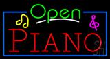 Piano Open Neon Sign