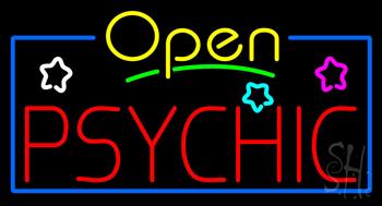 Open Psychic Neon Sign