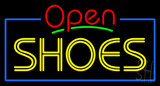 Shoes Open Neon Sign