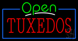 Tuxedos Open LED Neon Sign