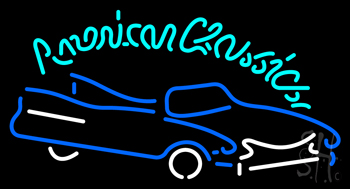 Classics American Neon Sign