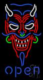 Devil Open Neon Sign