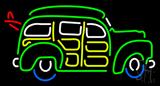 Surfin Woody Wagon Neon Sign