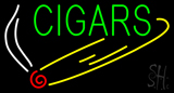 Green Cigars Neon Sign
